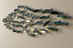 Shoaling fish decor