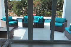Furniture fr the pool terrace arrived