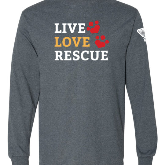 Live Love Rescue Long Sleeve Shirt