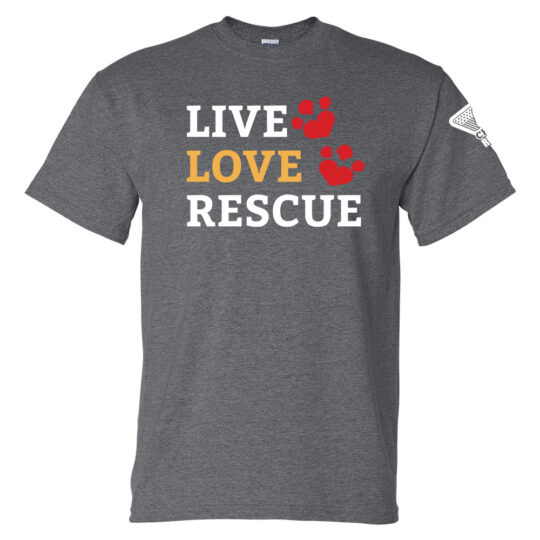 Live Love Rescue Short Sleeve T-Shirt
