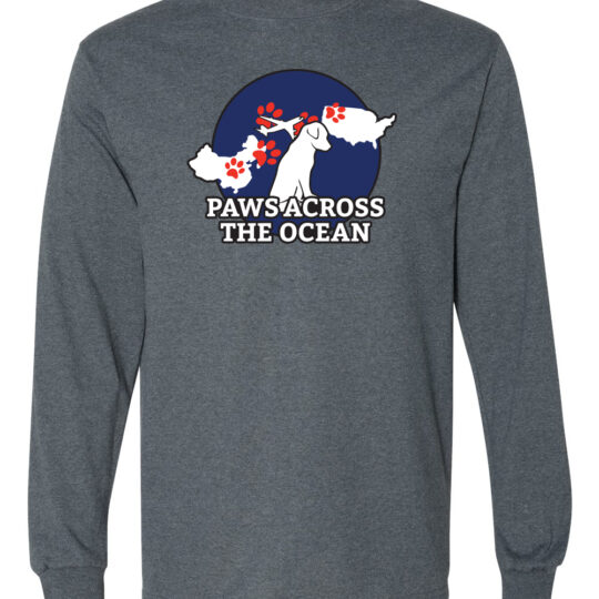 Paws Across the Ocean Long Sleeve Shirt