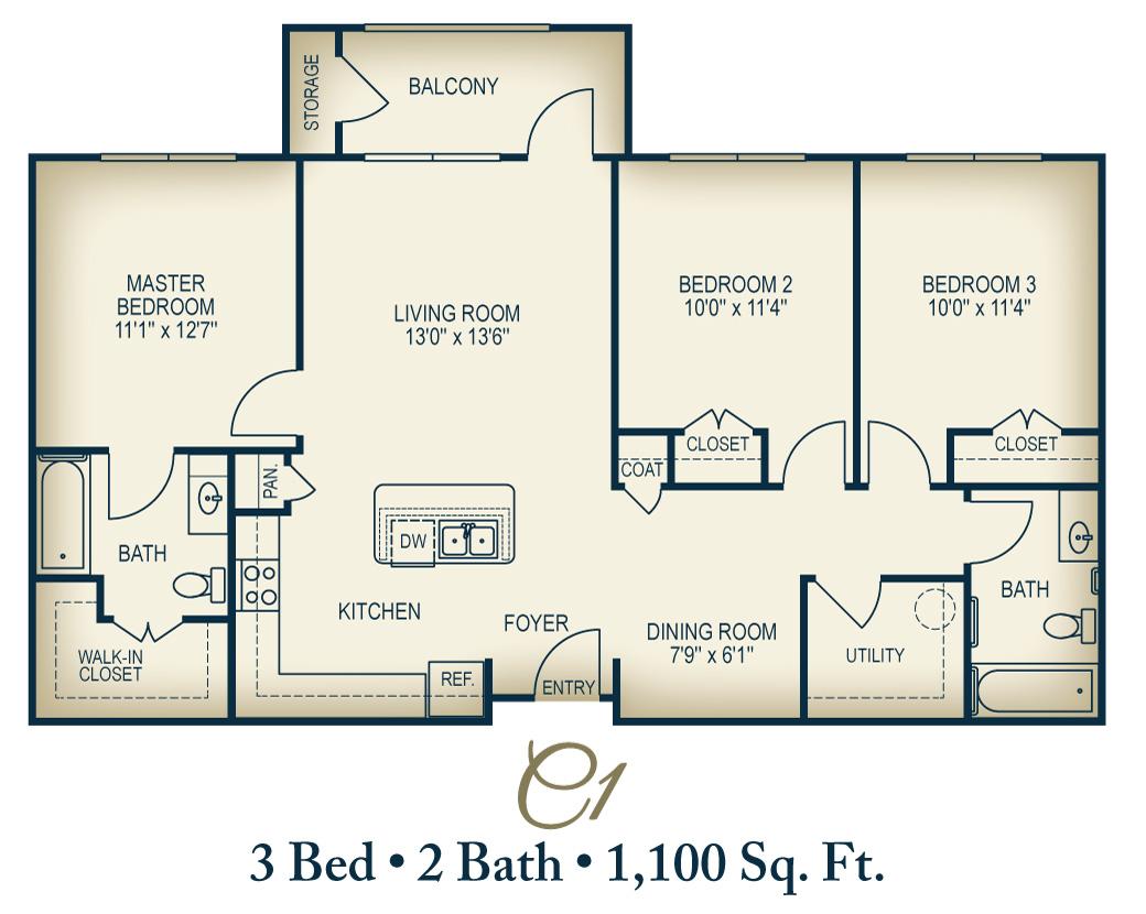 Floorplan C1