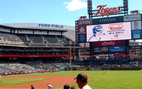Detroit Tigers Parking