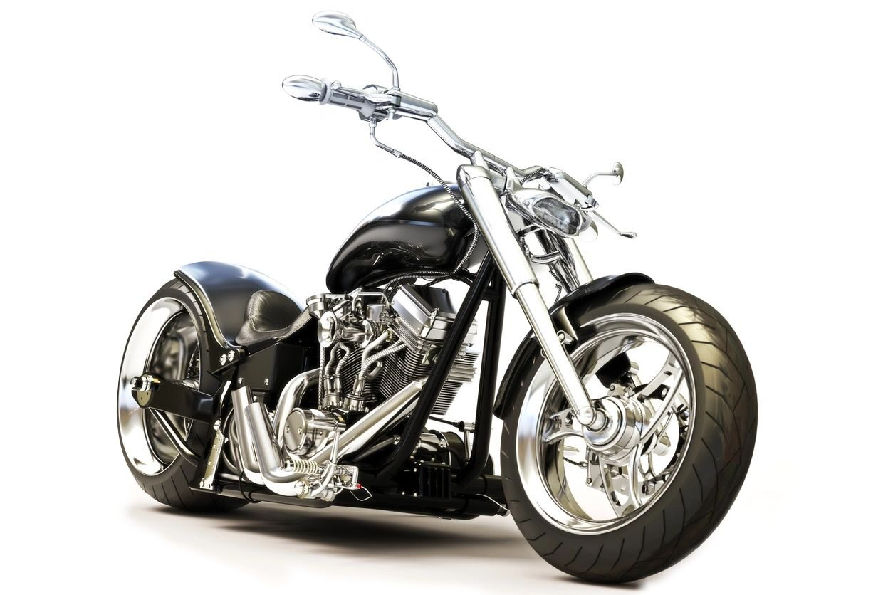 A motorcycle that needs our motorcycle storage services in San Diego and Orange County, CA