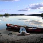 woman-canoe