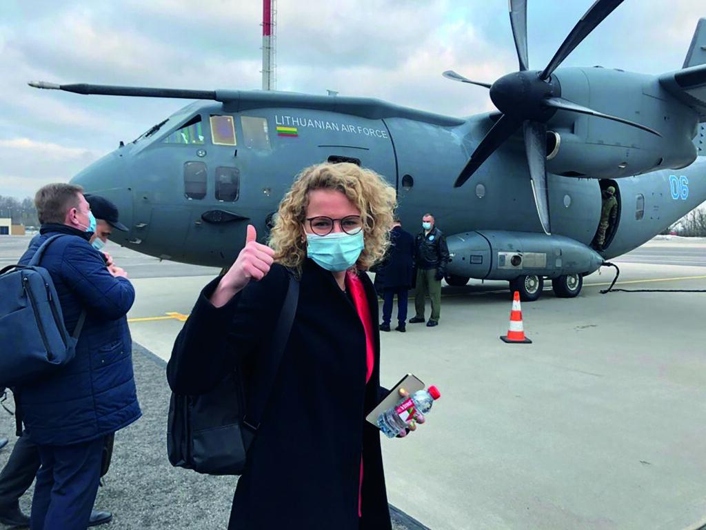 Litvanya'dan Tayvan'a aşı yardımı