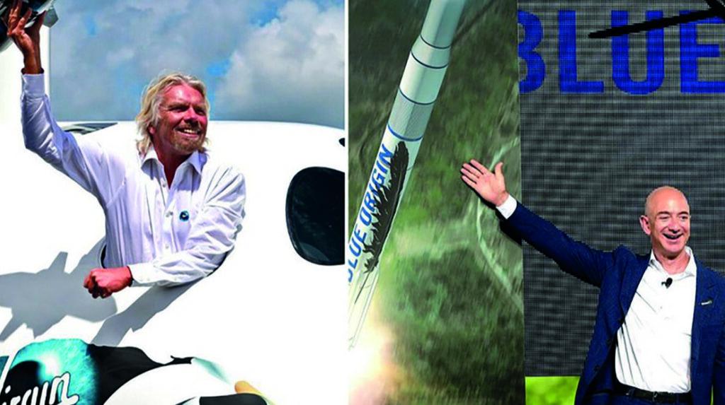 Zenginler uzaya gitmek için yarışıyor