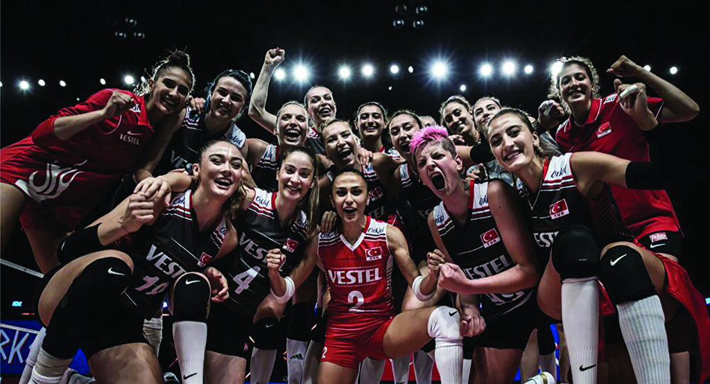 Türkiye voleybolda dünya üçüncüsü oldu