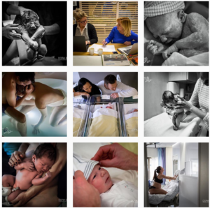 birth photography Instagram feeds - dorabarensfotografie