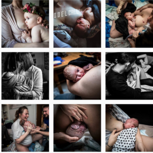 birth photography Instagram feeds - hannahpalamarabirthstories