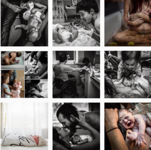 birth photography Instagram feeds - coastal_life_photos