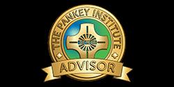 Logo for the Pankey Institute for dental education