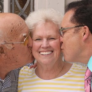 Sue, an actual patient of Dr. Mitchmore, your Houston dentist, after her dental implant procedure