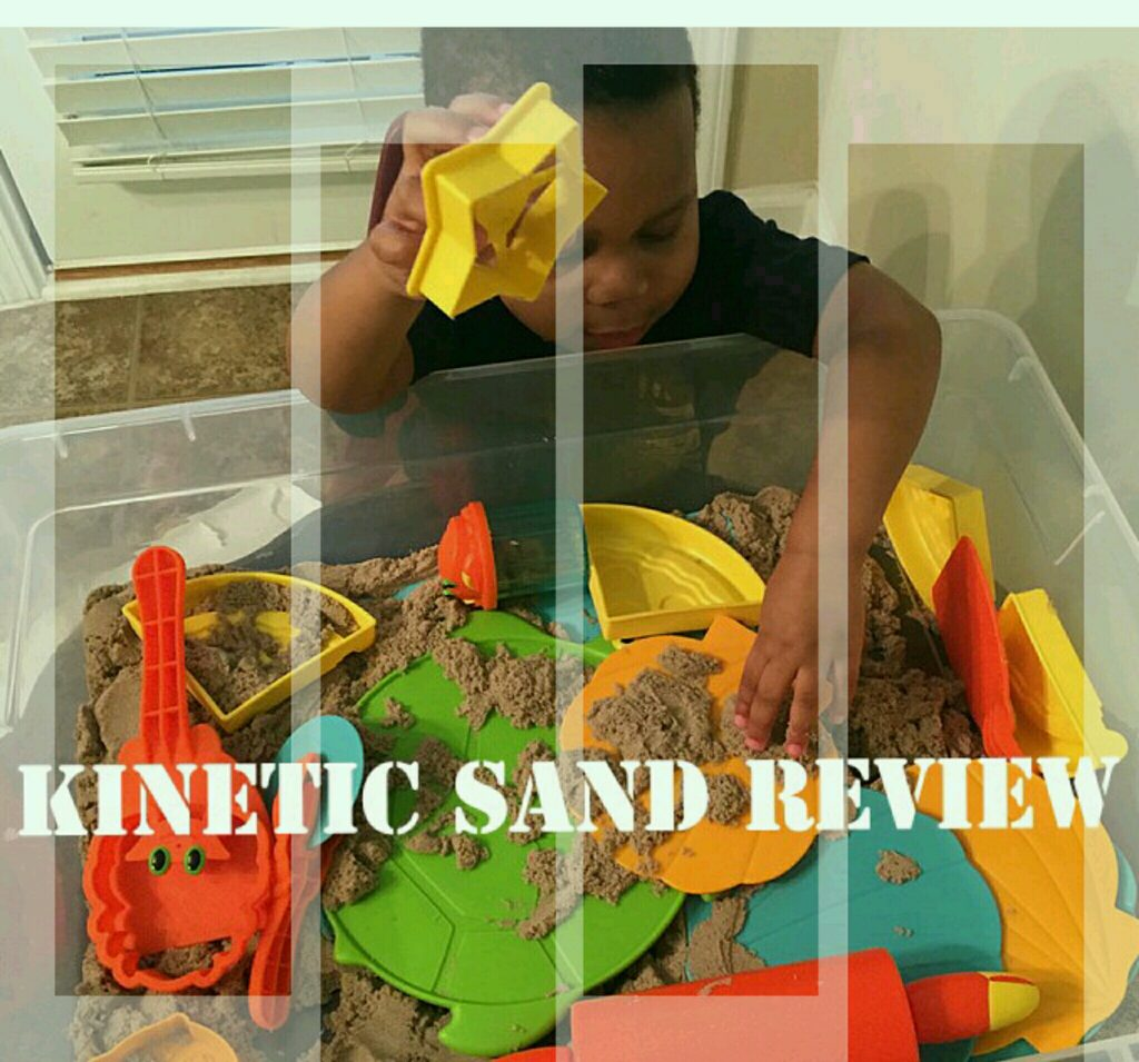 Kinetic Sand Toy Review and Creative Ideas for Preschool