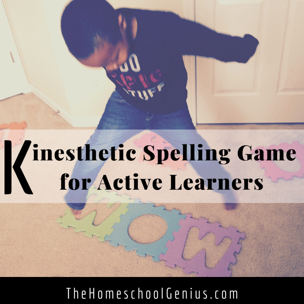 Teaching Boys to Read and Spell | Kinesthetic Learning Game