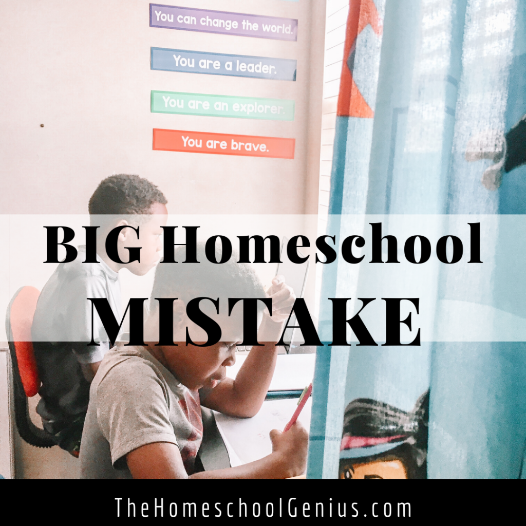 Homeschool Burnout | One Mistake I Didn't Know I Was Making