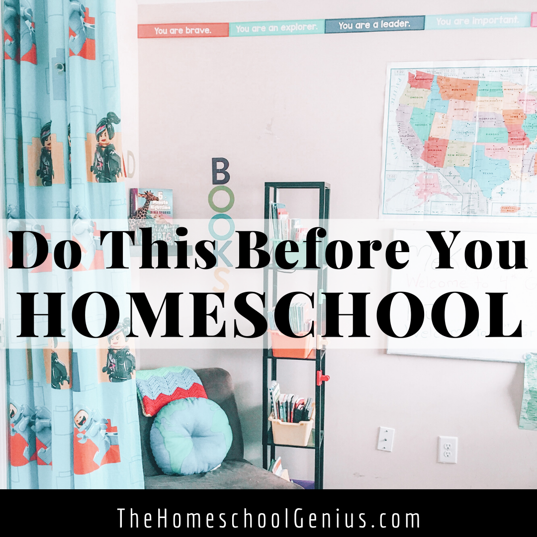 Before You Homeschool