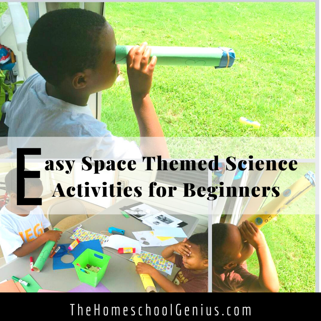 Easy Fun Science Activities for Kids | Planets, Constellations, and Craters, Oh My