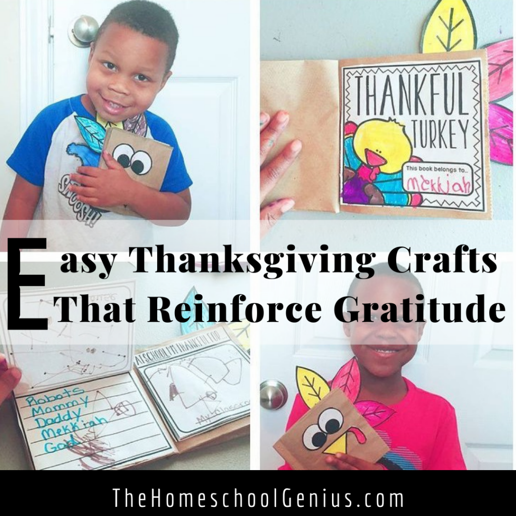 Easy Thanksgiving Crafts That Reinforce Gratitude