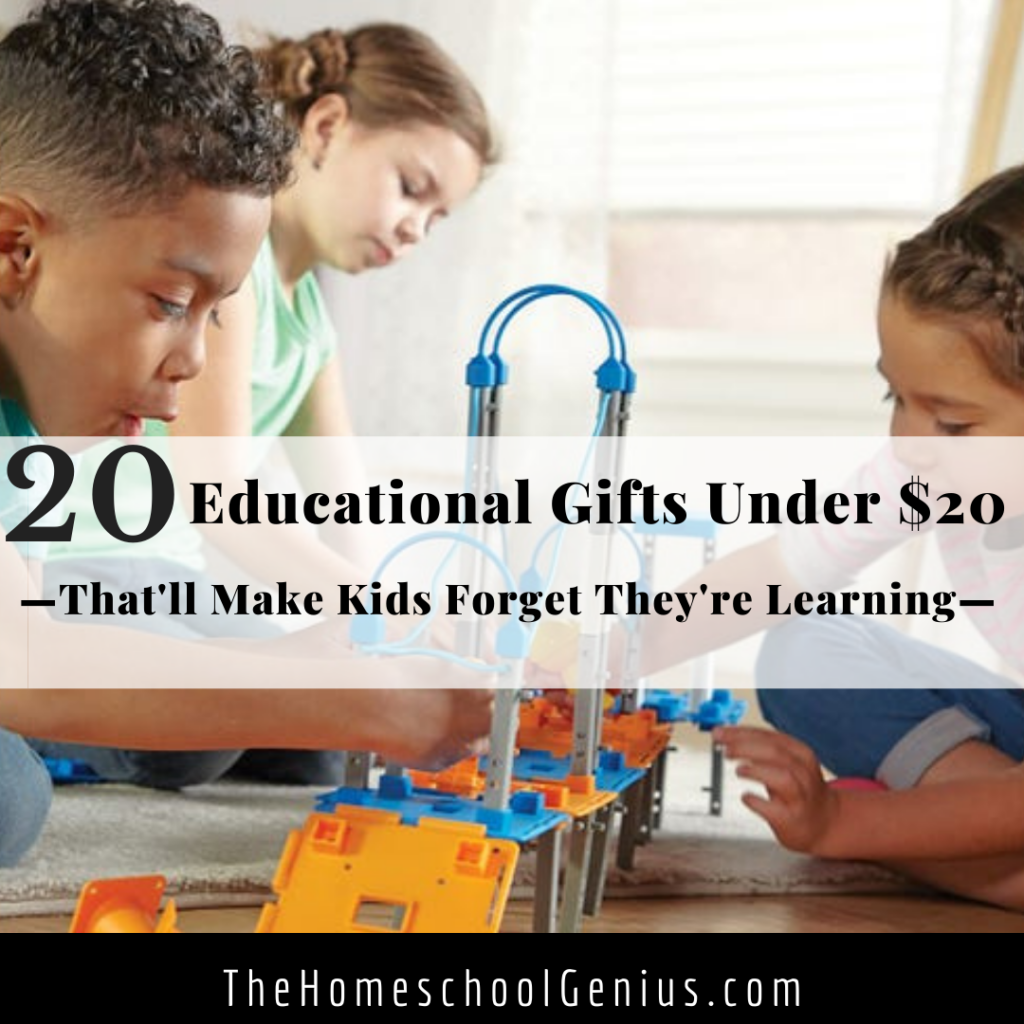 20 Educational Gifts Under $20 That Will Make Kids Forget They're Learning