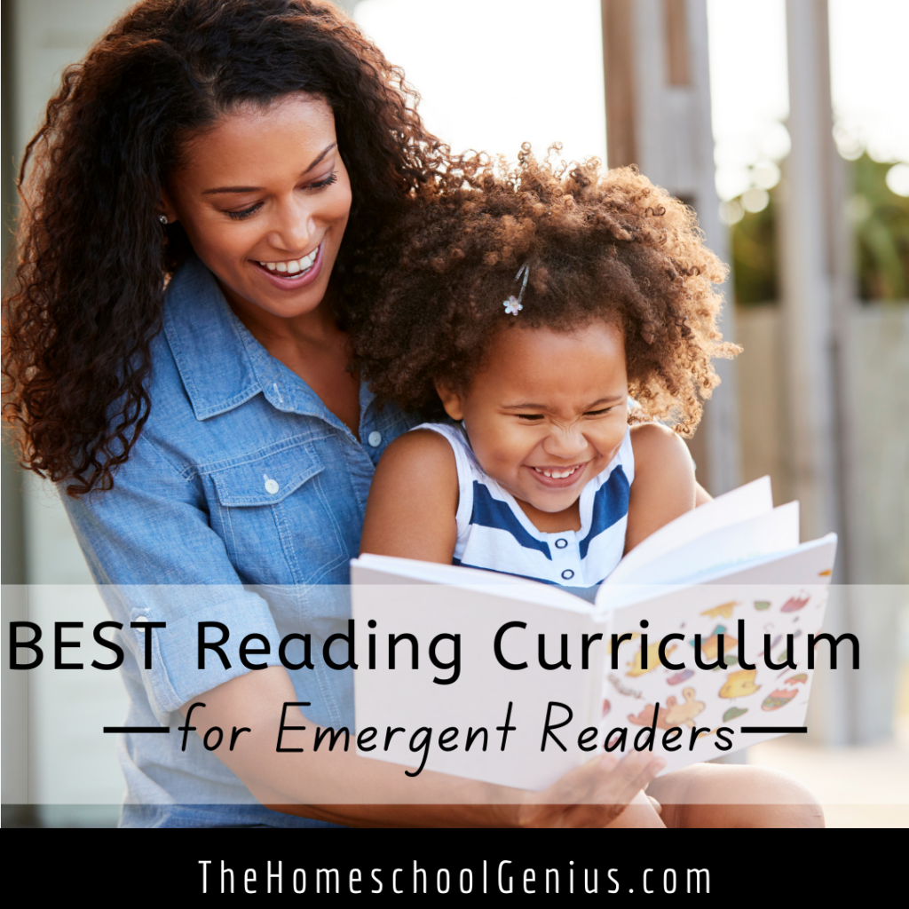Best Reading Curriculum for Emergent Readers