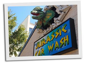 Jurassic Car Wash!