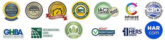 Bryon Parffrey houston inspector certifications