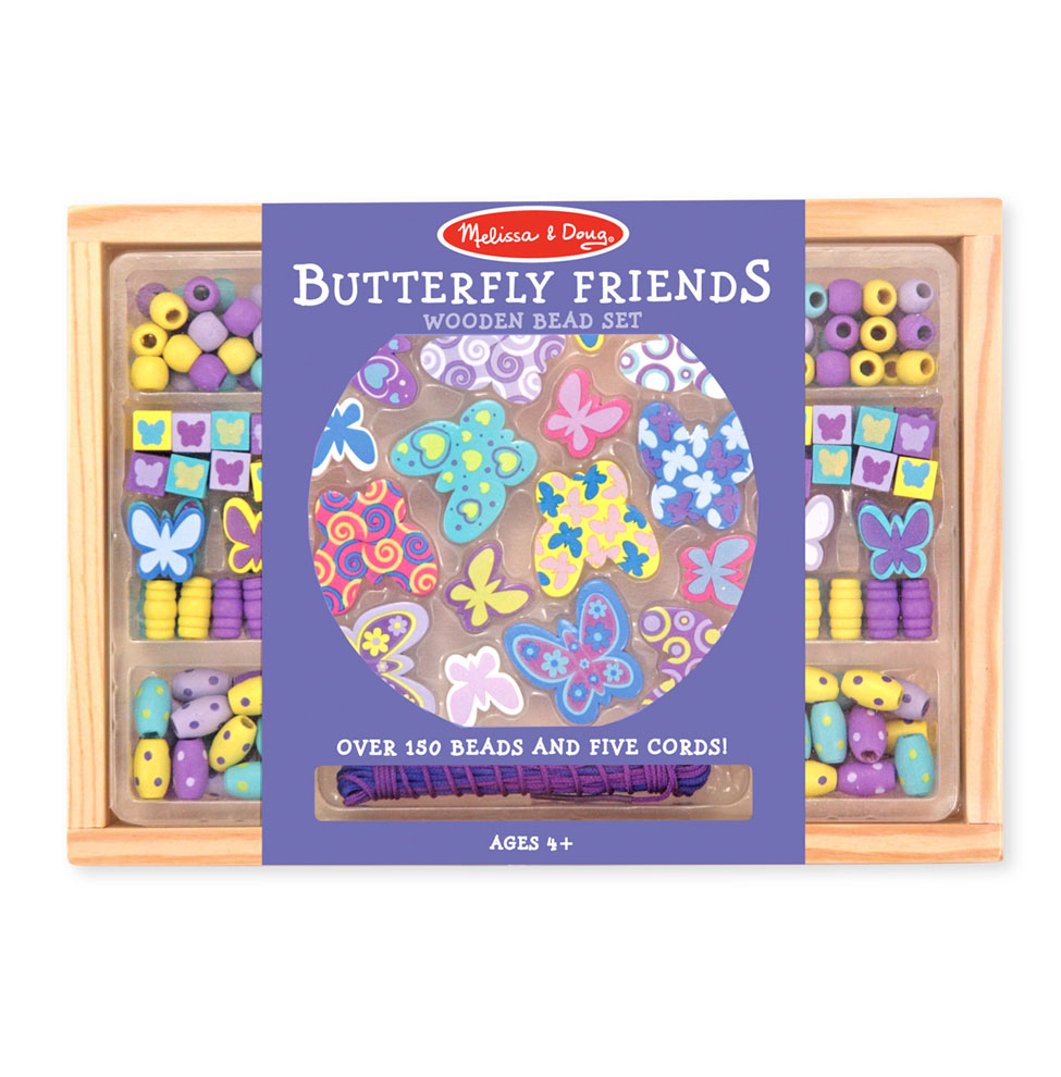 Butterfly Friends Bead & Jewelry Making Set