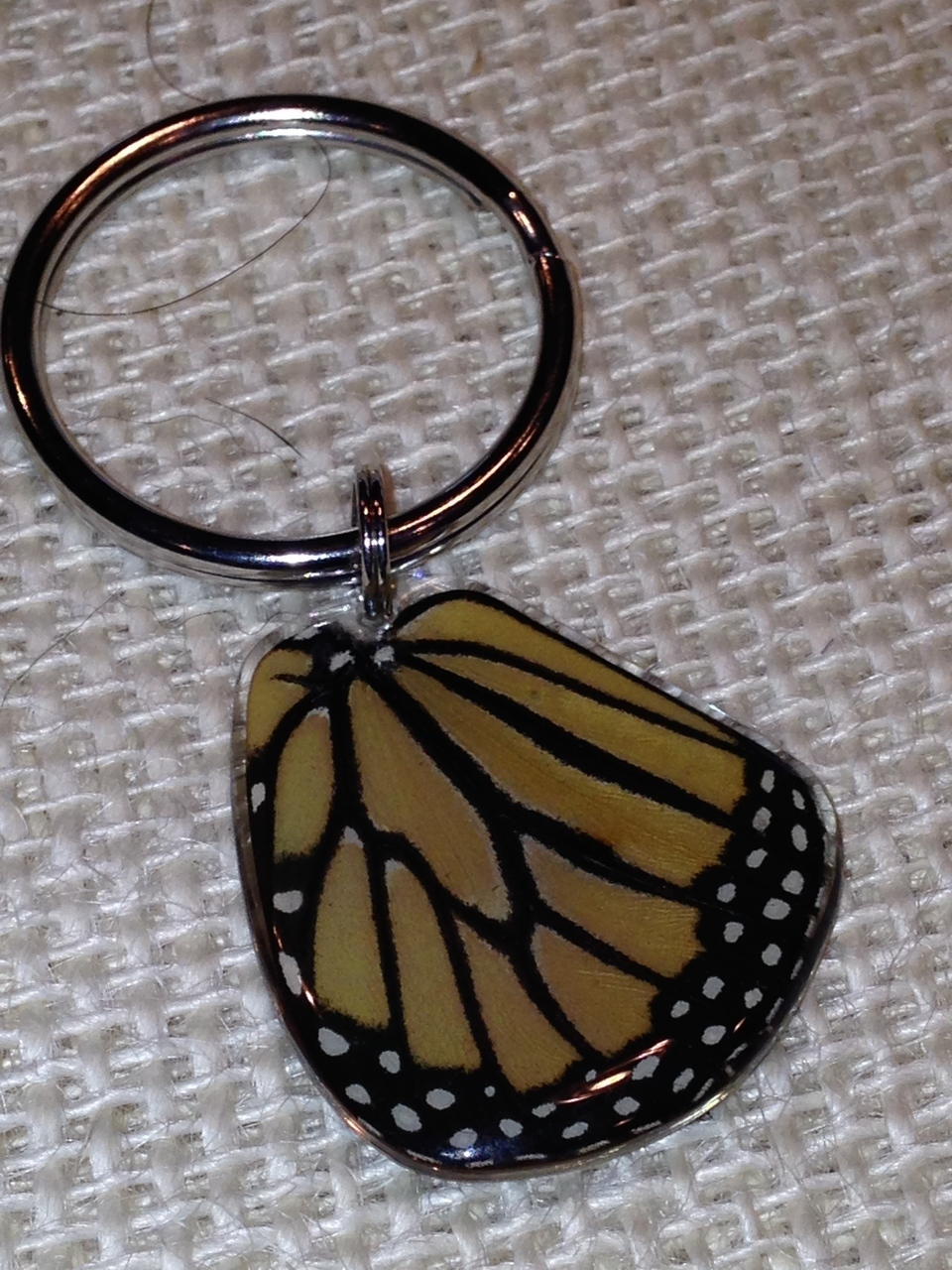 Monarch Wing Key Ring