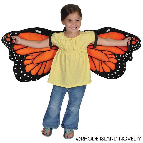 Plush Monarch Butterfly Wings