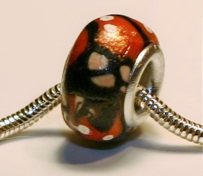 Queen Butterfly Jewelry Bead