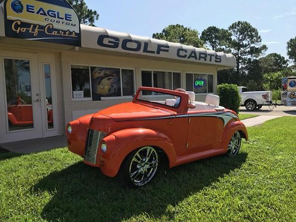 39 Roadster Eagle Custom Golf Carts Fort Pierce Florida