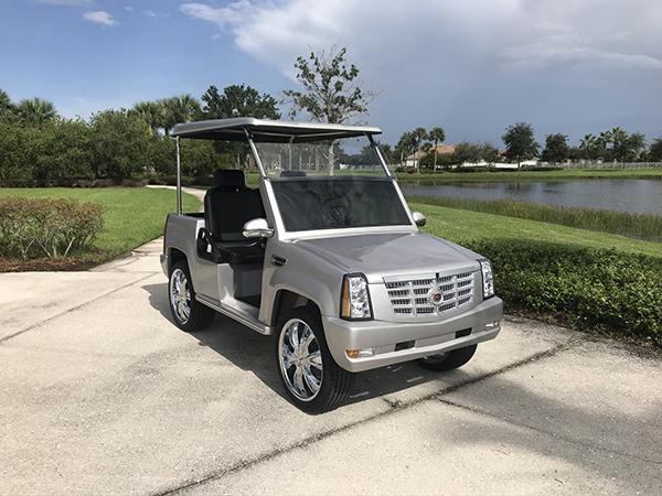 Eagle Custom Golf Cart Cadillac Escalade Fort Pierce FL