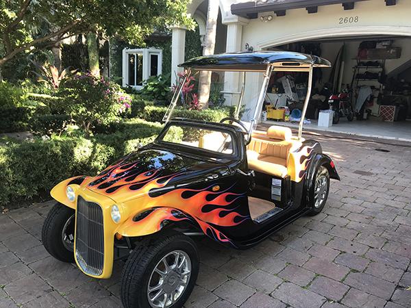 Eagle Custom Golf Carts Custom Paint Port St Lucie FL
