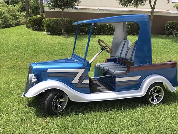 Custom Golf Carts Paint