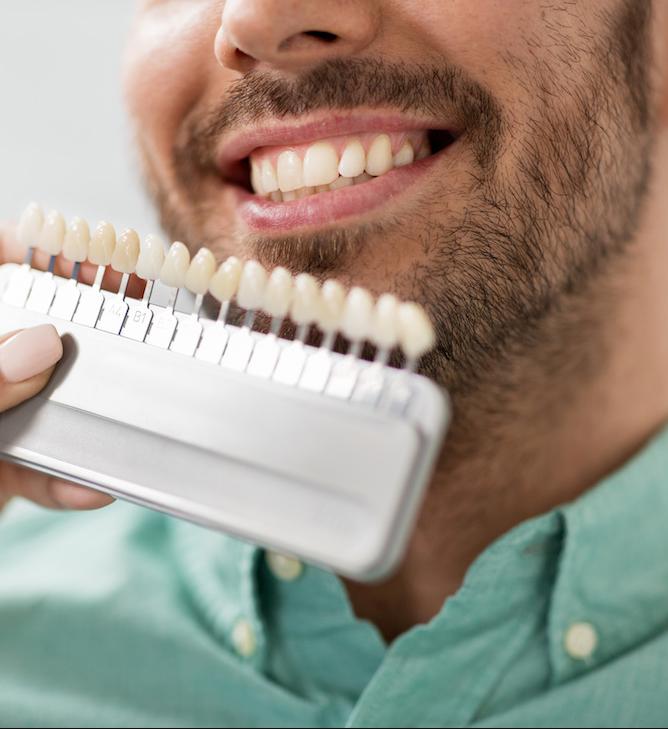 teeth whiting scale