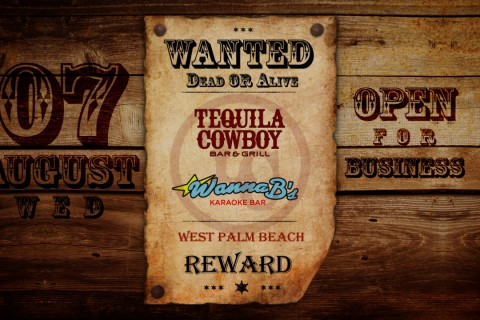 Wanted Dead Or Alive | Tequila Cowboy