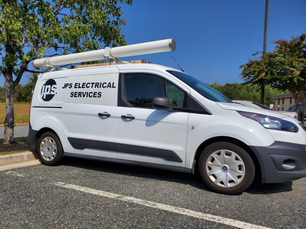 jps electrical services truck