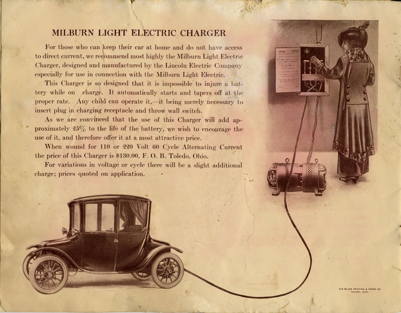 Milburn Light Electric Charger