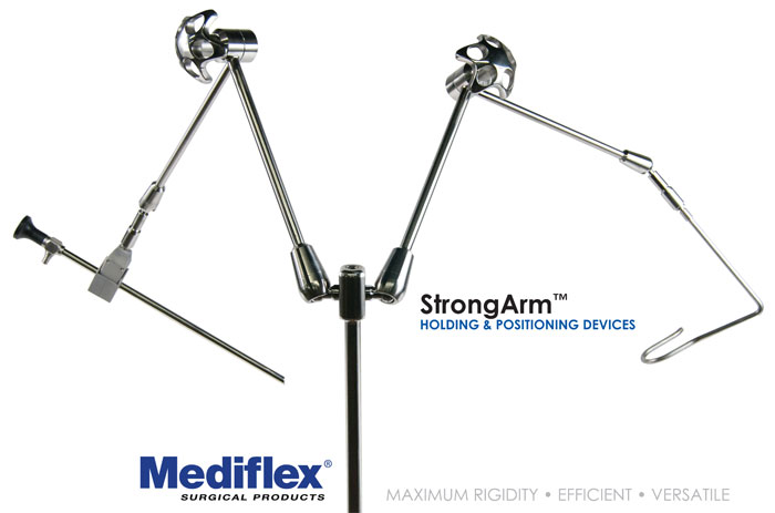 mediflex strongarm surgical positioning device
