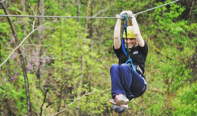 White Lightning Zipline