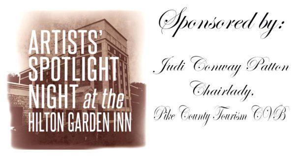Artists Spotlight Night Sponsors