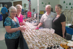 40 vendors had lots of visitors during the annual Craft Sale.