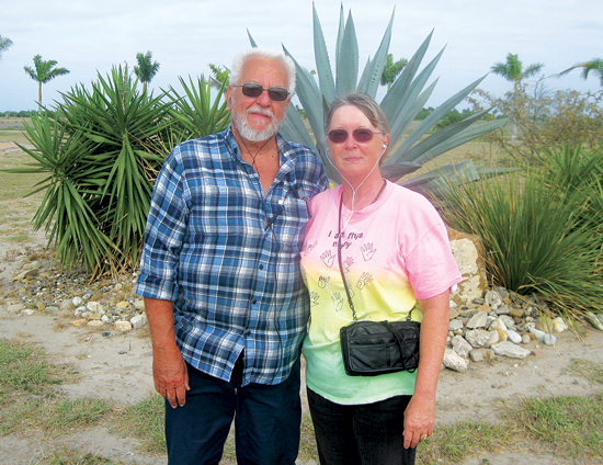 Jim and Laurie Johnson are regular joggers at the park.