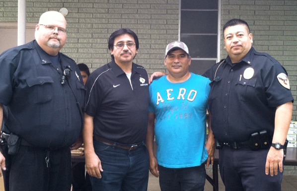 Investigator Douglas Montgomery and Chief Xavier Martinez. Photo: Santa Rosa PD