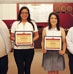 2013 La Feria High School  Valedictorian & Salutatorian Honored