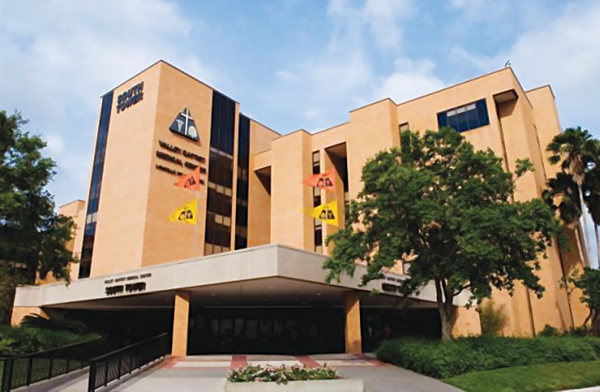 One of the health care facilities to be acquired by Tenet includes Valley Baptist Medical Center in Harlingen, TX. Photo: Google.