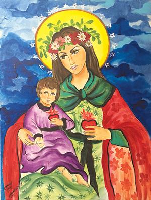 """Madonna del Corazon"" by Toni Hudson"