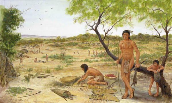 Coahuiltecans were small roving bands of natives thought to have lived in the South Texas plains for thousands of years.