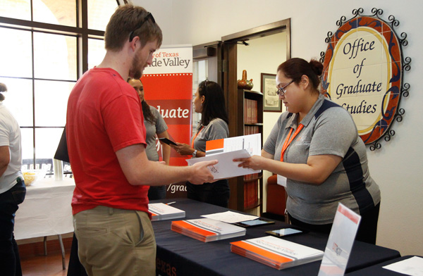 More than 70 UTRGV students attended graduate orientation Aug. 26 on the Brownsville Campus, shown here. Graduate orientation on the Edinburg campus was Aug. 27, with more than 200 students attending. Photo: Ann Jacobo/UTRGV